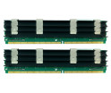 Image for Komputerbay 4GB (2x 2GB) DDR2 PC2-6400F 800MHz ECC Fully Buffered 2Rx4 FB-DIMM (240 PIN) w/ Heatspreaders for Apple MAC computers