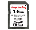 Image for KOMPUTERBAY 16GB SDHC Class 10 Ultra High Speed Secure Digital 16 GB Flash Memory Card Read 20MB/s Write 15MB/s