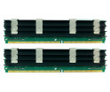 Image for Komputerbay 8GB (2x 4GB) DDR2 PC2-5300F 667MHz CL5 ECC Fully Buffered FB-DIMM (240 PIN) 8 GB w/ Heatspreaders for Apple computers