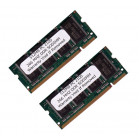 KOMPUTERBAY 1GB (512MBx2) DDR SODIMM (200 pin) 266Mhz DDR266 PC2100 FOR Acer  Aspire 1355LC 1 GB (512MBx2)