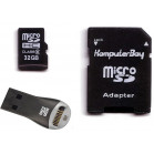 Komputerbay 32GB MicroSDHC Card High Speed Class 6 with Micro SD Adapter and SanDisk Mobilemate USB Reader