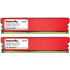 Komputerbay 16GB (2x 8GB) DDR3 PC3-10600 1333MHz DIMM with Red Heatspreaders 240-Pin RAM Desktop Memory 9-9-9-25 XMP ready