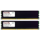 Komputerbay 16GB (2x 8GB) DDR3 PC3-12800 1600MHz DIMM with Black Heatspreaders 240-Pin RAM Desktop Memory 11-11-11-28 XMP ready