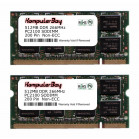 Komputerbay 1GB (512MBx2) DDR SODIMM (200 pin) 266Mhz DDR266 PC2100 FOR Compaq  Presario R3114EA 1 GB (512MBx2)