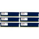 Komputerbay 24GB (6 x 4GB) DDR3 DIMM (240 pin) 1600Mhz PC3 12800 24 GB KIT (9-9-9-25) RAM with heatspreader
