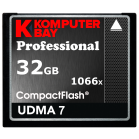 Komputerbay 32GB Professional Compact Flash card 1066X CF write 155MB/s read 160MB/s Extreme Speed UDMA 7 RAW