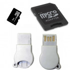 Komputerbay 16GB MicroSD SDHC Microsdhc Class 10 with Micro SD Adapter and N111 USB adapter