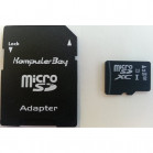 Komputerbay 64GB Micro SDXC MicroSDXC Class 6 High Speed Memory Card with SD Adapter and USB Reader