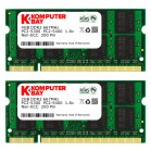 Komputerbay 6GB Kit (4GB + 2GB Modules) PC2-5300 667MHz DDR2 SODIMM for HP Compaq Presario