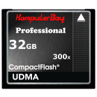 Komputerbay 32GB High Speed Compact Flash CF 300X Ultra High Speed Card 10MB/s Write and 52MB/s Read