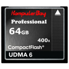 KOMPUTERBAY 64GB Professional COMPACT FLASH CARD CF 400X WRITE 30MB/s READ 60MB/s Extreme Speed UDMA 6 RAW 64 GB