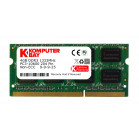 Komputerbay 4GB DDR3 SODIMM (204 pin) 1333Mhz PC3 10600 4 GB (9-9-9-25)-Does not work on Macs