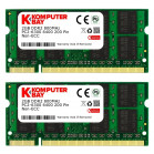 KOMPUTERBAY 4GB (2 X 2GB) DDR2 SODIMM (200 PIN) 800Mhz PC2 6400 / PC2 6300 4 GB CL 5.0