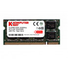 KOMPUTERBAY 512MB DDR SODIMM (200 pin) 266Mhz DDR266 PC2100 LAPTOP MEMORY