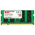 Komputerbay 2GB DDR2 SODIMM (200 pin) 800Mhz PC2 6400 / PC2 6300 FOR Dell HP 2 GB