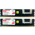 Komputerbay 8GB (2x 4GB) DDR2 PC2-5300F 667MHz CL5 ECC Fully Buffered FB-DIMM (240 PIN) 8 GB w/ Heatspreaders