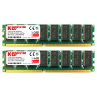 Komputerbay with Samsung semiconductors 2GB (2x 1GB) DDR DIMM (184 PIN) 400MHz PC3200 desktop memory