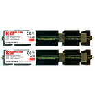 Komputerbay 4GB (2x 2GB) DDR2 PC2-6400F 800MHz ECC Fully Buffered 2Rx4 FB-DIMM (240 PIN) w/ Heatspreaders for Apple MAC computers