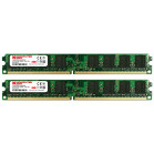 Komputerbay 2GB (2X 1GB) DDR2 800MHz PC2-6300 PC2-6400 (240 PIN) DIMM Desktop Memory with Samsung Semiconductors