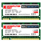 Komputerbay MACMEMORY Apple 4GB Kit (2x 2GB) PC2-5300 667MHz DDR2 SODIMM for iMac and Macbook Memory
