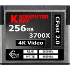 Komputerbay Professional 3700x 256GB CFast 2.0 Card (Up to 560MB/s Read and up to 495 MB/s Write)