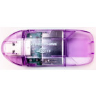 Komputerbay 10 in 1 SD/SDHC/MMC USB Reader - Purple