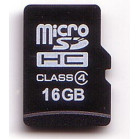 KOMPUTERBAY 16GB microSD microSDHC Memory Card with free N111 USB 2.0 Reader and SD Adapter  - High Speed Class 4