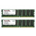 Komputerbay 1GB ( 2 x 512MB ) DDR DIMM (184 pin) 333Mhz PC 2700 Low Density 1 GB KIT