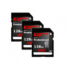 Komputerbay 3-PACK - 128GB SDXC Secure Digital Extended Capacity Speed Class 10 600X UHS-I Ultra High Speed Flash Memory Card 40MB/s Write 90MB/s Read 128 GB