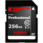 Komputerbay Professional 256 GB High Speed SDXC Class 10 UHS-I, U3 up to 95 MB/Sec Flash Card