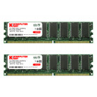 Komputerbay 1GB ( 2 x 512MB ) DDR DIMM (184 pin) 266Mhz PC 2100 Low Density 1 GB KIT