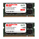 Komputerbay 1GB (512MBx2) DDR SODIMM (200 pin) 266Mhz DDR266 PC2100 FOR FIC AN5W Notebook 1 GB (512MBx2)