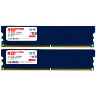 Komputerbay 2GB 2X 1GB DDR2 1066MHz PC2-8500 DDR2 1066 (240 PIN) DIMM Desktop Memory with Heatspreaders