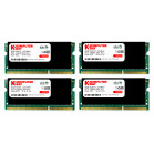 Komputerbay 32GB (4x 8GB) DDR3 PC3-10600 10666 1333MHz SODIMM 204-Pin Laptop Memory 9-9-9-25 with Black Heatspreaders
