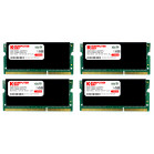 Komputerbay 32GB (4x 8GB) DDR3 PC3-12800 1600MHz SODIMM 204-Pin Laptop Memory 10-10-10-27 with Black Heatspreaders 1.5V