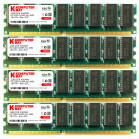 Komputerbay 4GB (4x 1GB) DDR PC3200 400MHz DIMM Low Density Desktop RAM for AMD based motherboards only - will not work on Intel based motherboards including Dell, Sony, etc