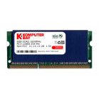 Komputerbay 8GB DDR3 PC3-12800 1600MHz SODIMM 204-Pin Laptop Memory 11-11-11-28 with Blue Heatspreader