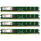 KOMPUTERBAY 8GB (4X 2GB) DDR2 800MHz PC2-6300 PC2-6400 (240 PIN) DIMM Desktop Memory with Samsung Semiconductors