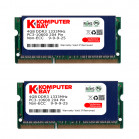 Komputerbay 8GB (2x 4GB) DDR3 SODIMM (204 pin) 1333Mhz PC3 10600 8 GB with SODIMM Heatsink for extra cooling (9-9-9-25)