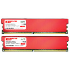 Komputerbay 8GB (2 X 4GB) DDR2 DIMM (240 pin) 800MHZ PC2-6400 PC2-6300 Desktop RAM with Red Heatspreaderss for extra Cooling CL 5-5-5-12