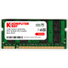 Komputerbay 2GB (1X 2GB) DDR2 800MHz PC2-6300 PC2-6400 (200 PIN) SODIMM Laptop Memory with Hynix Chips
