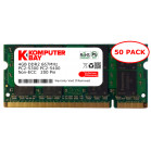 Komputerbay 50-PACK - 4GB DDR2 PC-5300/PC-5400 667MHz 200 Pin SODIMM Laptop Memory