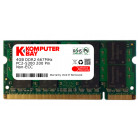 Komputerbay 4GB DDR2 667MHz PC2-5300 PC2-5400 DDR2 667 (200 PIN) SODIMM Laptop Memory