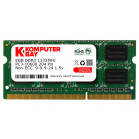 Komputerbay 8GB PC3-10600 10666 1333MHz SODIMM 204-Pin Laptop Memory 9-9-9-24 Single 8GB Stick for PC only - not MAC