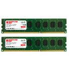 Komputerbay 8GB (2 X 4GB) DDR3 DIMM (240 pin) 1333Mhz PC3 10600 / PC3 10666 9-9-9-25 1.5v 8 GB KIT