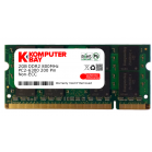 Komputerbay 2GB SODIMM 200-pin DDR2 800MHz PC2-6400 Unbuffered non-ECC MEMORY RAM FOR DELL: Inspiron 13 1318 1410 1420 1501 1510 1520 1525 1526 1545 1720 1721 6000 630m 640m 9400 E1405 E1505 E1705 Mini 12 Mini 9 Latitude D410 D420 D430 D510 D520 D530 D531