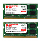Komputerbay 8GB (2x 4GB) DDR3 SODIMM (204 pin) 1066Mhz PC3-8500 (7-7-7-20) Laptop Notebook Memory for Apple Mac Mini