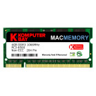 Komputerbay MACMEMORY 4GB DDR3 PC3-8500 1066MHz SODIMM 204-Pin Laptop Memory for Apple Mac