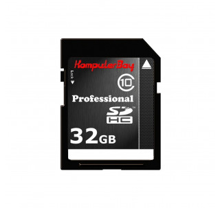 Image for KomputerBay 32GB Class 10 SDHC Ultra High Speed Memory Card Read 20MB/s Write 15MB/s
