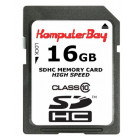 KOMPUTERBAY 16GB SDHC Class 10 Ultra High Speed Secure Digital 16 GB Flash Memory Card Read 20MB/s Write 15MB/s